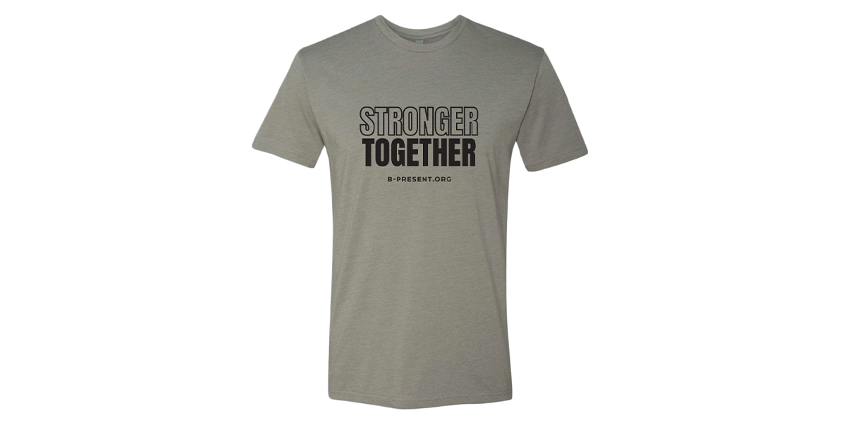 Men's Stronger Together Crew Neck Tee