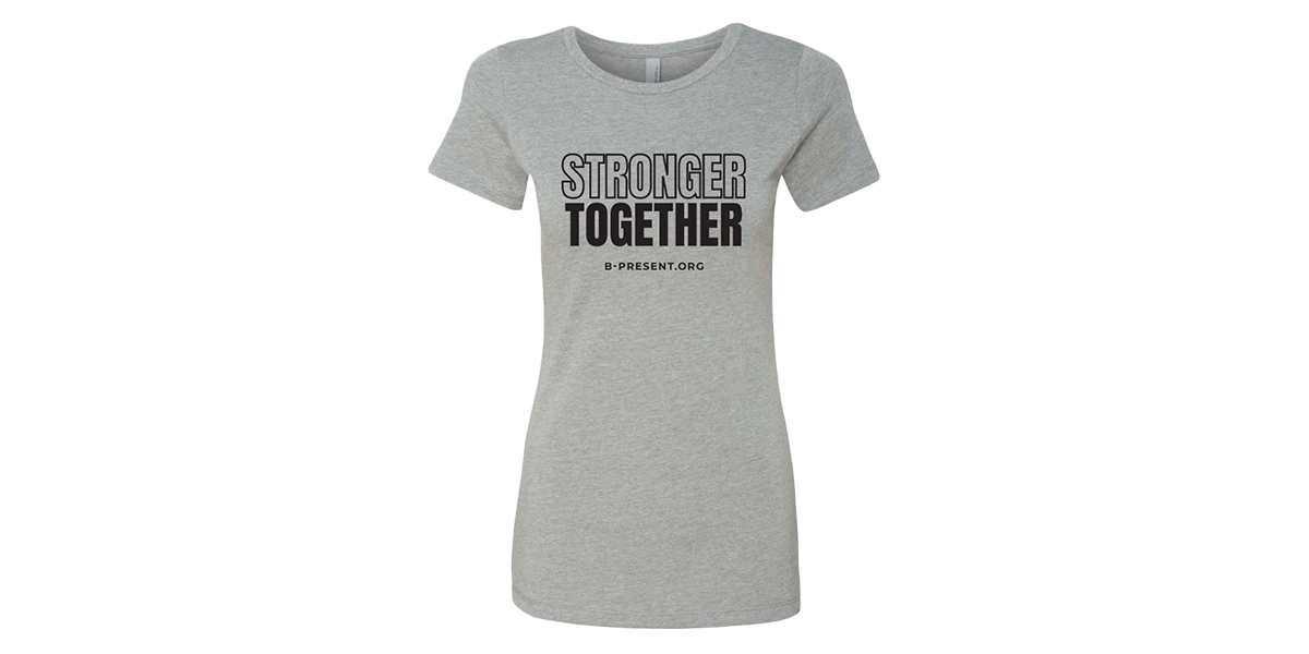 Women's Stronger Together Crew Neck Tee
