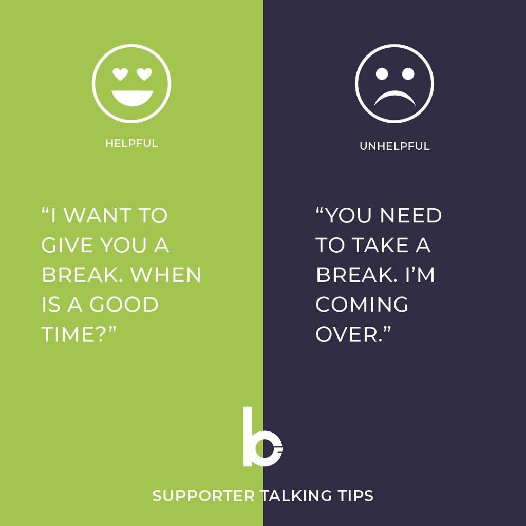 Supporter Talking Tip 9