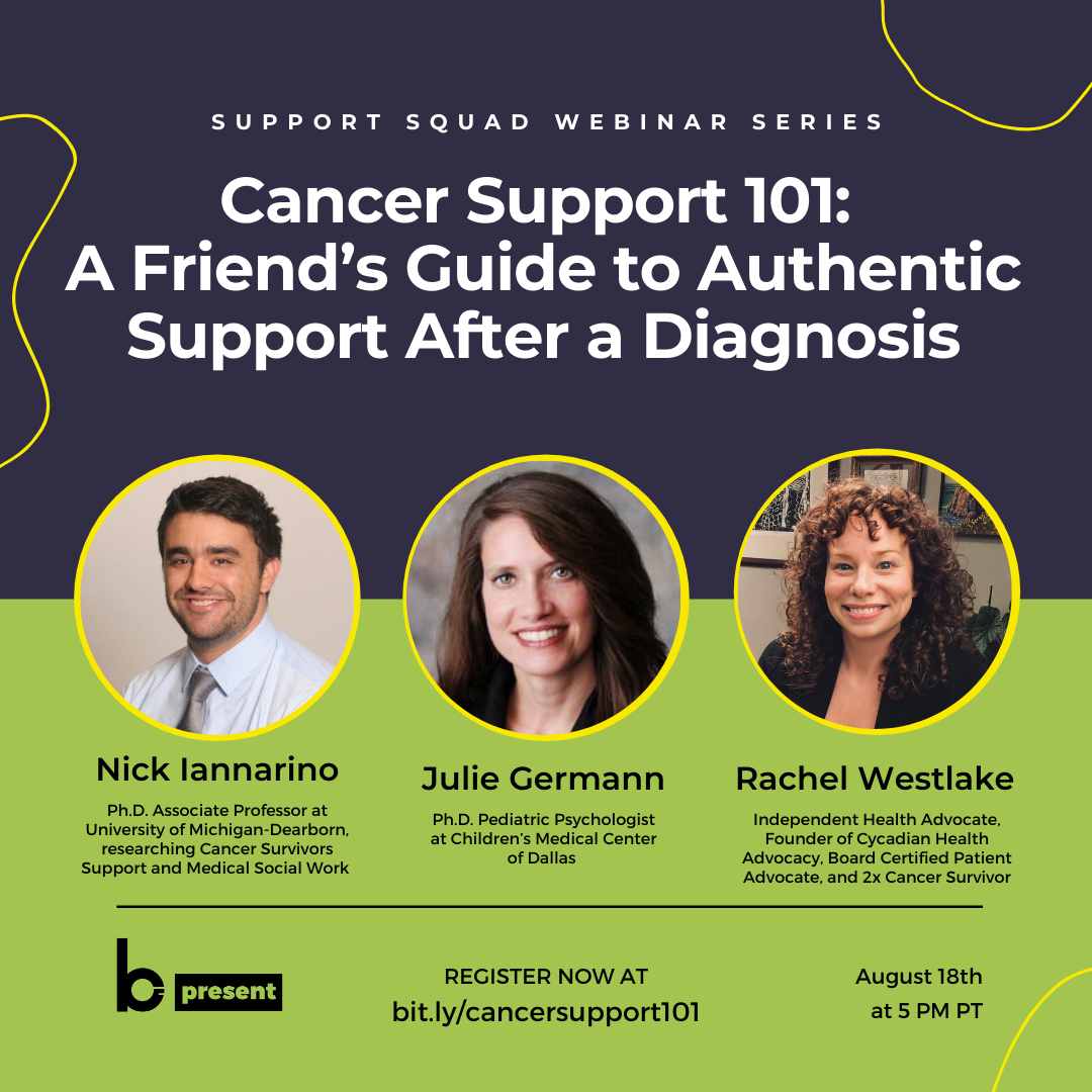 Cancer Support 101: A Friend's Guide to Authentic Support After A Diagnosis